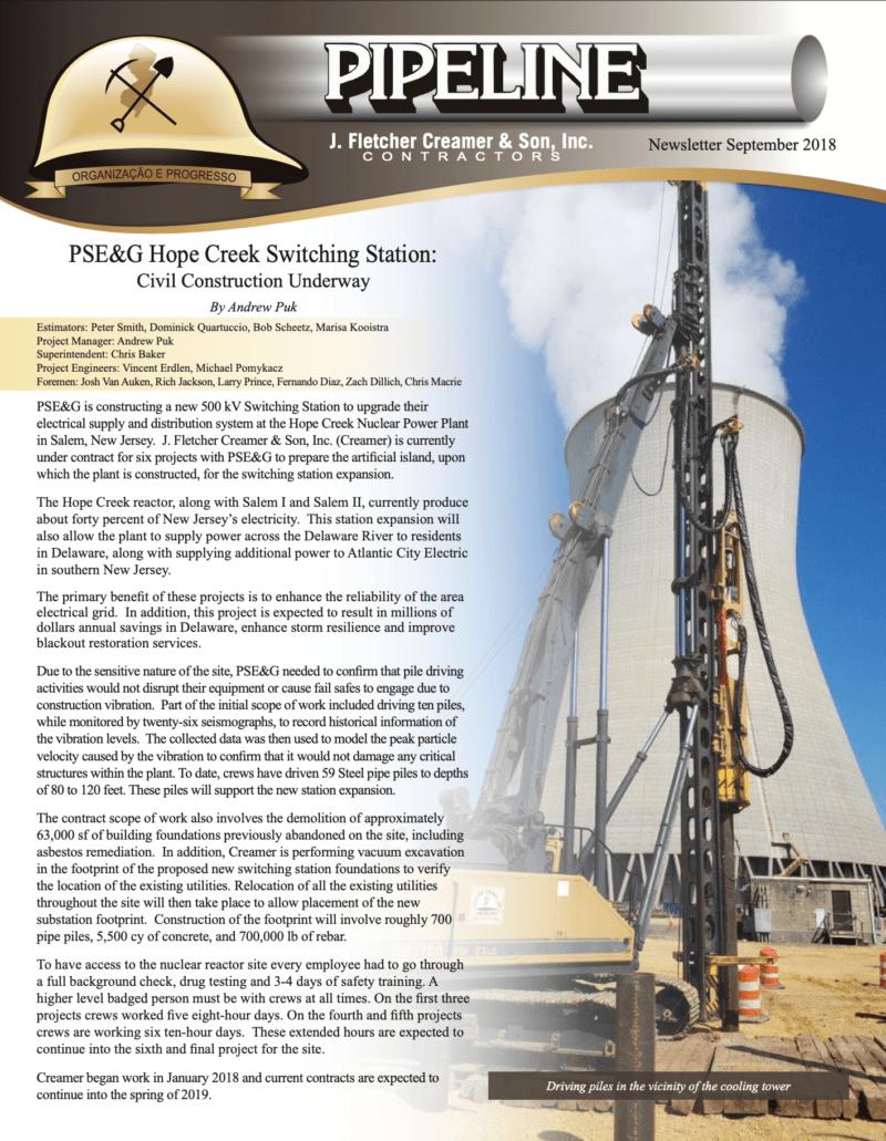 2018-09 Fall Newsletter