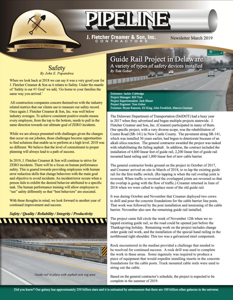 2019-03 Spring Newsletter