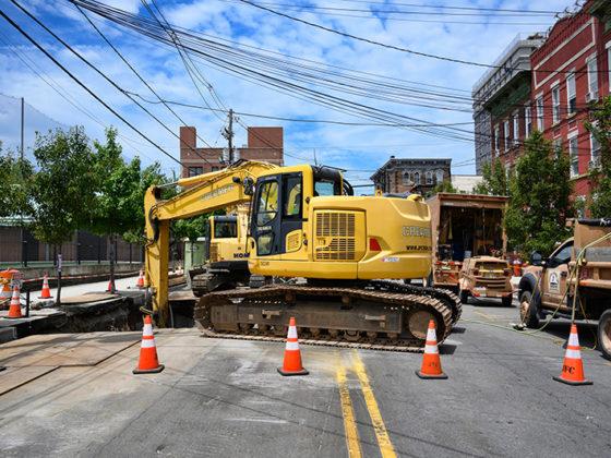 Union City Manhole & Conduit 3