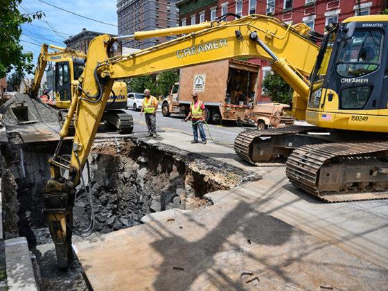 Union City Manhole & Conduit 4