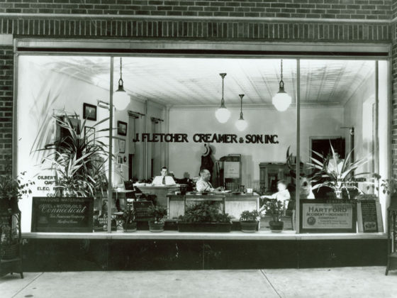 J. Fletcher Creamer & Son, Inc. office in 1923