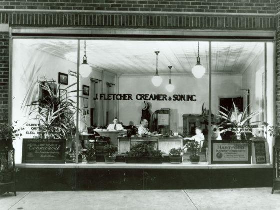 J. Fletcher Creamer & Son, Inc. office in 1923