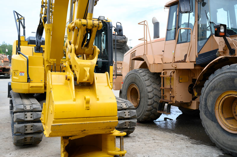 machines for Infrastructure construction services