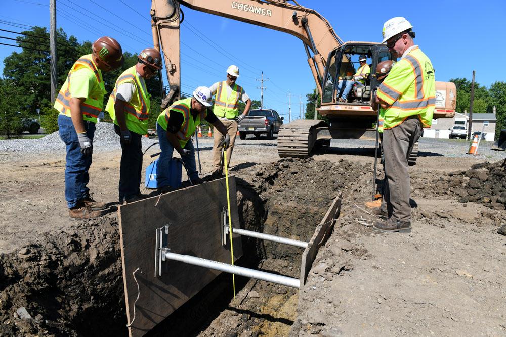 construction training at Creamer